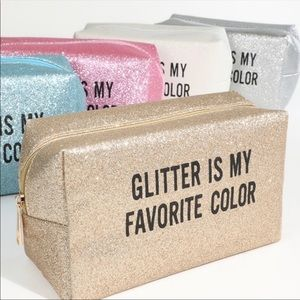 Love of Fashion Bags - SHINING Glitter Make-Up Bag